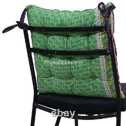Assorted 5 pcs Vintage Kantha Outdoor Garden handmade Soft chair seat pad dining
