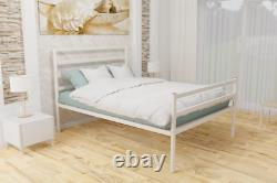 Bedford Extra Strong Metal Bed Frame with Mesh Base 10 Years Guarantee