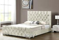 Chesterfield Jasmine Upholstered Bed Frame with storage New Best price ever