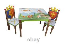 Fantasy Fields by Teamson Knights & Dragon Table + 2 Chairs NEW SALE BEST PRICE