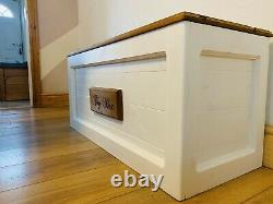 Hand Crafted Assembled Solid Pine Personalised Toy Box