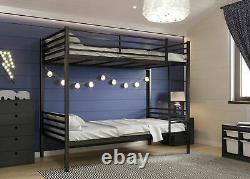Heavy Duty Metal Bunk Bed for Adults and Children 5 Years Guarantee