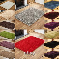 High Quality Thick Soft Shaggy Shaggy Low Cost Rugs New Clearance Small Large