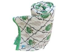 Jaipuri Razai Bed Cover Filling Cotton Quilted Bedspread Kantha Quilt King Size