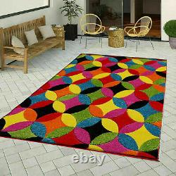 Large Outdoor Rugs Hand Carved Multi Color Carpets Modern Luxury Runner Mats