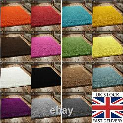 Large Shaggy Rugs Bedroom Non Slip Fluffy Soft Bedroom Living Room Non-Shed Pile