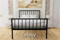 Maltby Extra Strong Metal Bed Frame with Mesh Base 10 Years Guarantee
