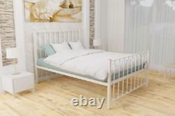 Nerlson Strong Reinforced Metal Bed Frame with Mesh Base 10 Years Guarantee