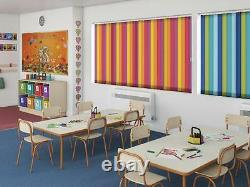 VERTICAL BLINDS MADE to MEASURE Blackout Thermal in 30 COLOURS From Only £10.50