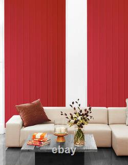 Vertical Blinds Made 2 Measure WAND CONTROL BLACKOUT THERMAL Fabric from £11.76