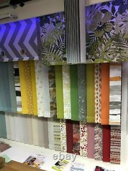 Vertical Blinds Made To Measure Child Safe Wand Controls 30 Blackout Fabrics