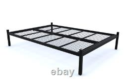 Warwick Reinforced Strong Metal Platform Bed with Mesh Base 10 Years Guarantee